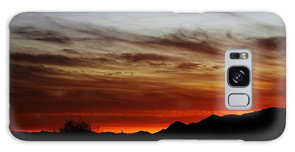 Arizona Sunset Skies Galaxy Case
