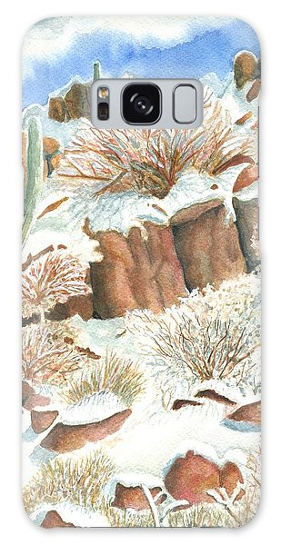 Arizona The Christmas Card Galaxy Case