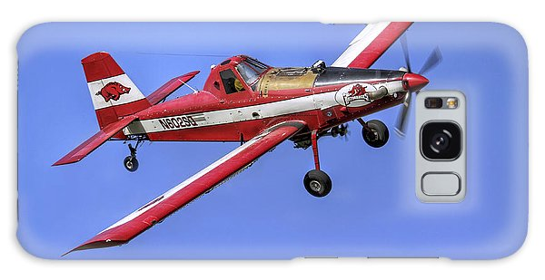 Arkansas Razorbacks Air Tractor Galaxy Case