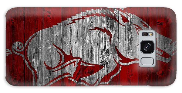 Arkansas Razorbacks Barn Door Galaxy Case