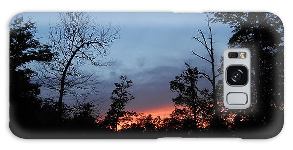 Arkansas Sunset Galaxy Case