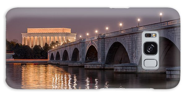 Arlington Memorial Bridge Galaxy Case