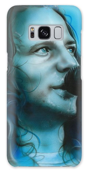 Pearl Jam Galaxy Case - Arms Raised In A V by Christian Chapman Art
