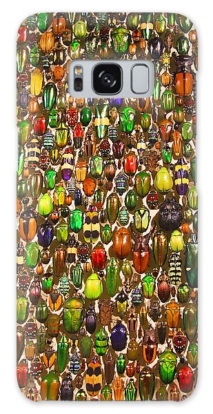 Army Of Beetles And Bugs Galaxy Case