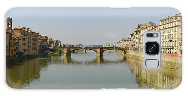 Arno River Panorama Galaxy Case