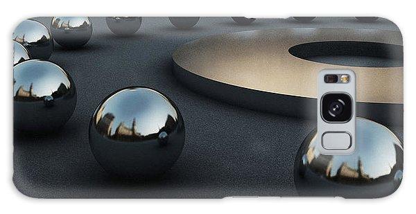 Around Circles Galaxy Case by Richard Rizzo