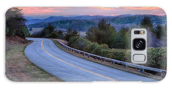 Around The Bend - Blue Ridge Parkway Galaxy Case