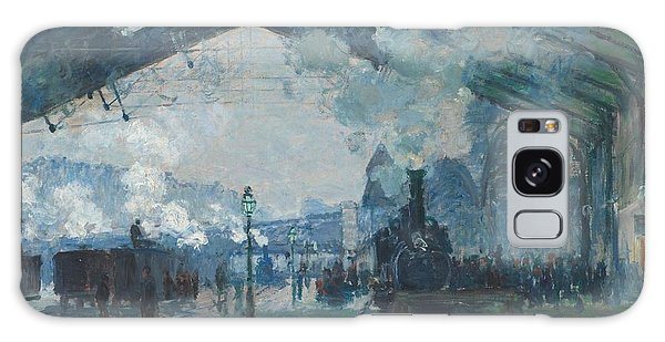 Art Institute Galaxy Case - Arrival Of The Normandy Train by Claude Monet