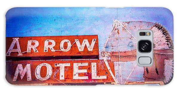 Arrow Motel Galaxy Case