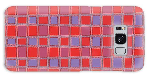Art 1906 Elegant Graphic Pattern Squares Colorful Digitalart Graphicart Surface Texture Design Multi Galaxy Case