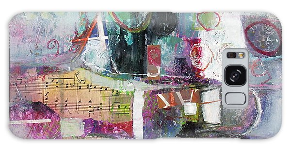 Art And Music Galaxy Case