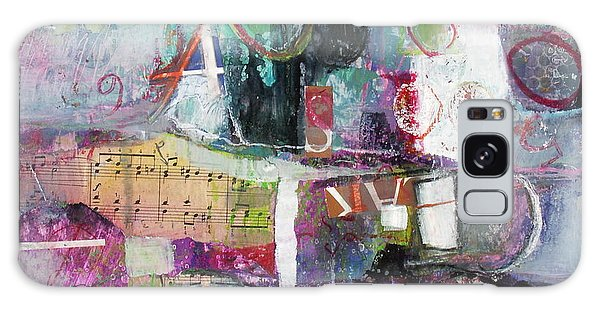 Art And Music Galaxy Case by Michelle Abrams