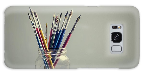 Art Brushes Galaxy Case