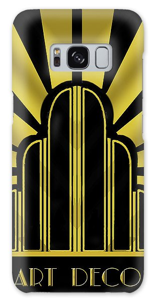 Art Deco Poster - Title Galaxy Case