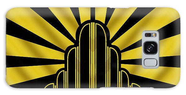 Art Deco Poster - Two Galaxy Case