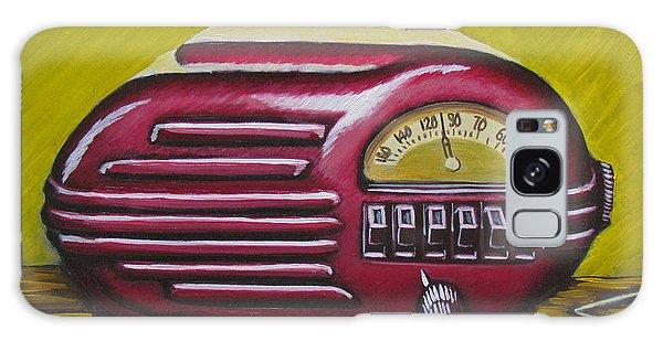 Art Deco Radio Galaxy Case