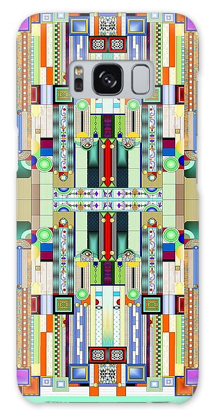 Art Deco Stained Glass 2 Galaxy Case