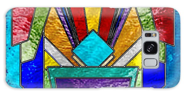 Art Deco - Stained Glass 6 Galaxy Case