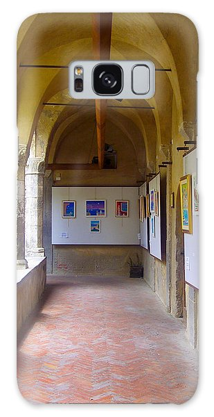 Art Gallery In A Monastery Galaxy Case