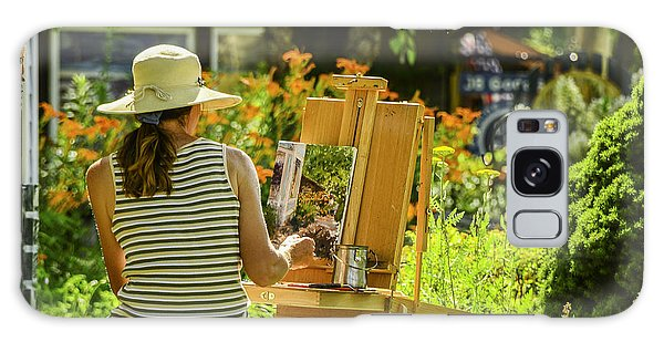 Art In The Garden Galaxy Case