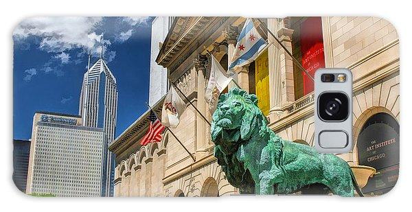 Art Institute Galaxy S8 Case - Art Institute In Chicago by Christopher Arndt