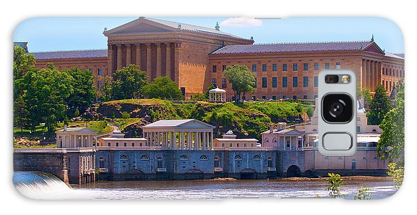 Art Museum And Fairmount Waterworks - Hdr Galaxy Case