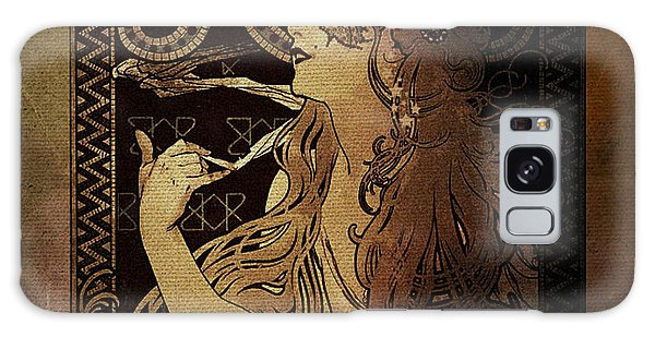 Art Nouveau Job - Masquerade Galaxy Case