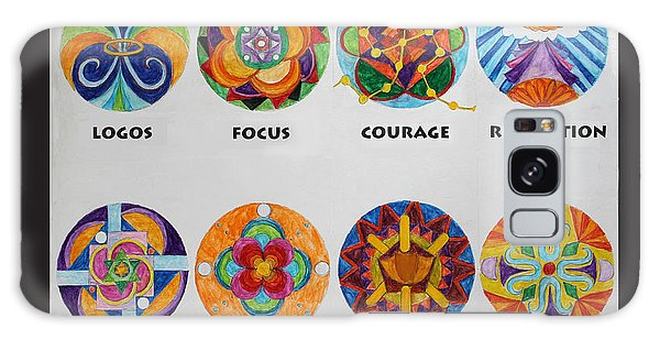 Art Therapy Directive Mandala Galaxy Case