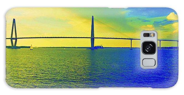 Arthur Ravenel Bridge 19 Galaxy Case