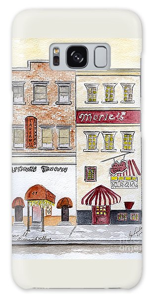 Arthur's Tavern - Greenwich Village Galaxy Case by AFineLyne