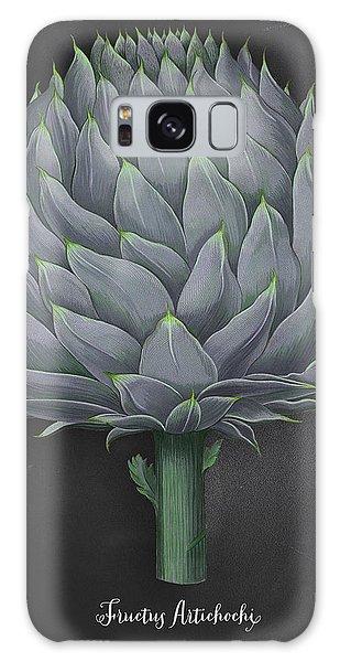 Artichoke Kitchen Art Print Galaxy Case
