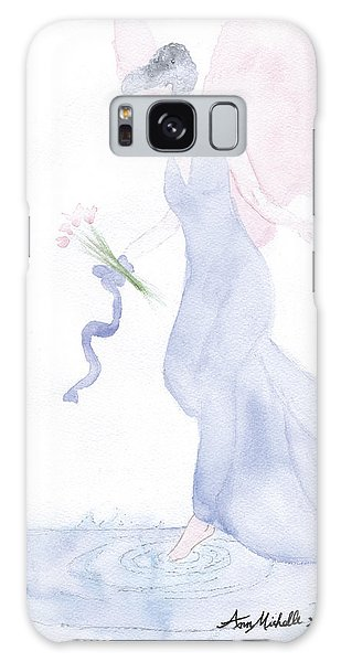 Artist Angel Galaxy Case by Ann Michelle Swadener