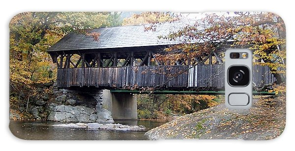 Artist Covered Bridge Galaxy Case by Catherine Gagne