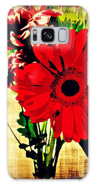 Artistic Flowers Galaxy Case