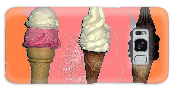 Artistic Ice Cream Galaxy Case