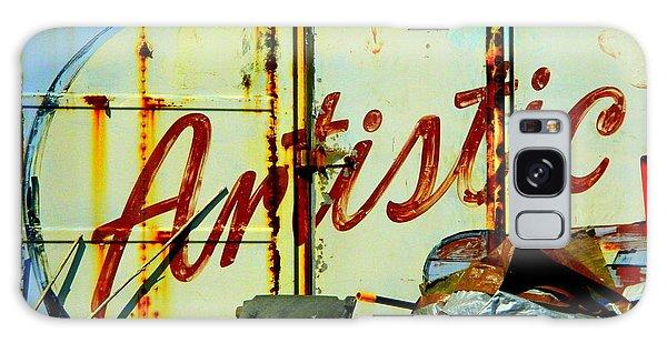 Artistic Junk Galaxy Case by Kathy Barney