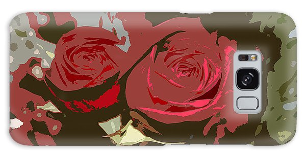 Artistic Roses Galaxy Case