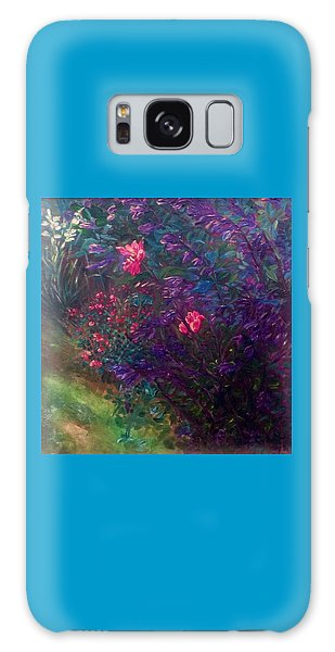 Artist's Garden In Spring I Galaxy Case