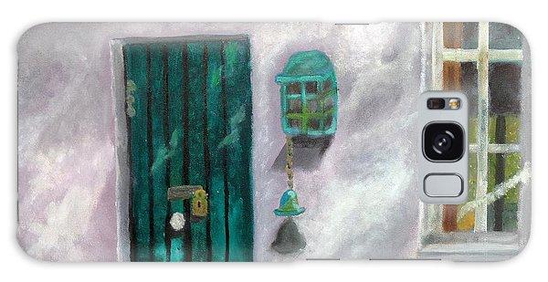 Artist's Studio In The Meadow Galaxy Case