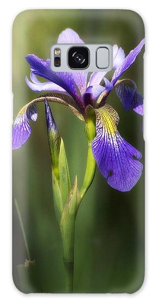 Artsy Iris Galaxy Case
