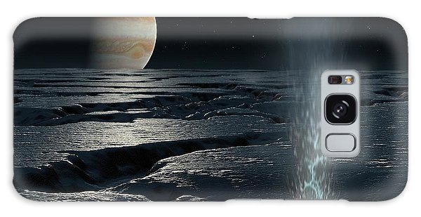 Chasm Galaxy Case - Artwork Of Jupiter Seen From Europa by Mark Garlick/science Photo Library