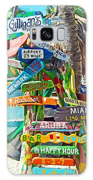 Aruba Fun Signs Galaxy Case