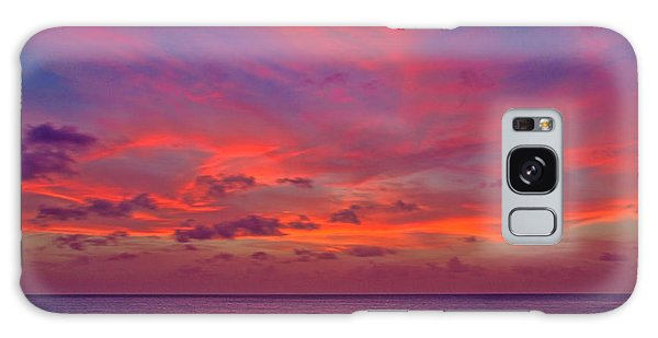 Aruba Sunset Galaxy Case