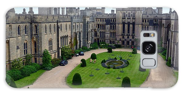 Arundel Castle Courtyard Galaxy Case