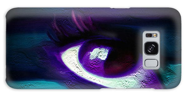 As Far As The Eye Can See Galaxy Case by Persephone Artworks