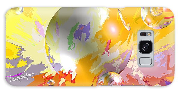 As The World Turns With Peace Galaxy Case by Sherri's Of Palm Springs