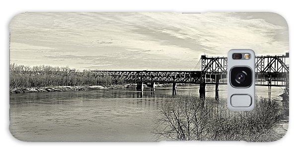 Asb Bridge Over The Missouri River Galaxy Case