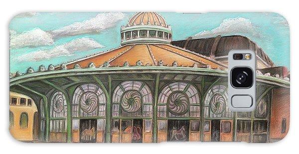 Asbury Park Carousel House Galaxy Case
