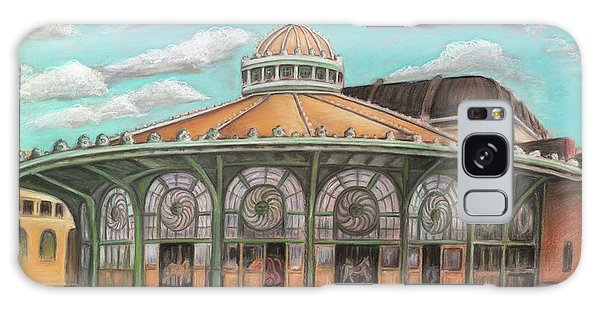 Asbury Park Carousel House Galaxy Case