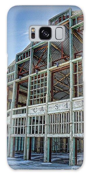 Asbury Park Casino And Carousel House Galaxy Case by Lee Dos Santos